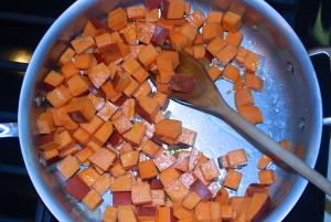 Sweet Potato Hash Salad