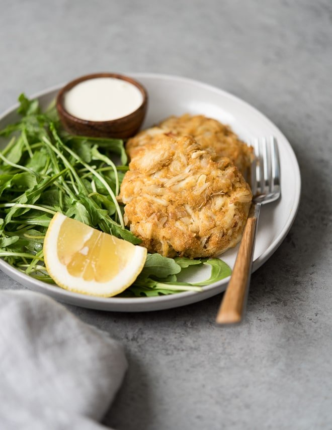 The Best Baked Crab Cakes