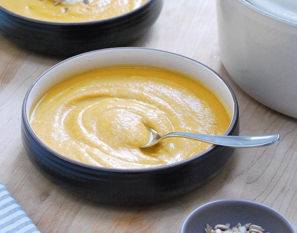 Sweet Potato-Cauliflower Soup5