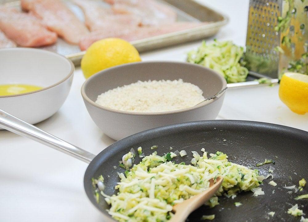 Chicken Zucchini Roll Ups-2