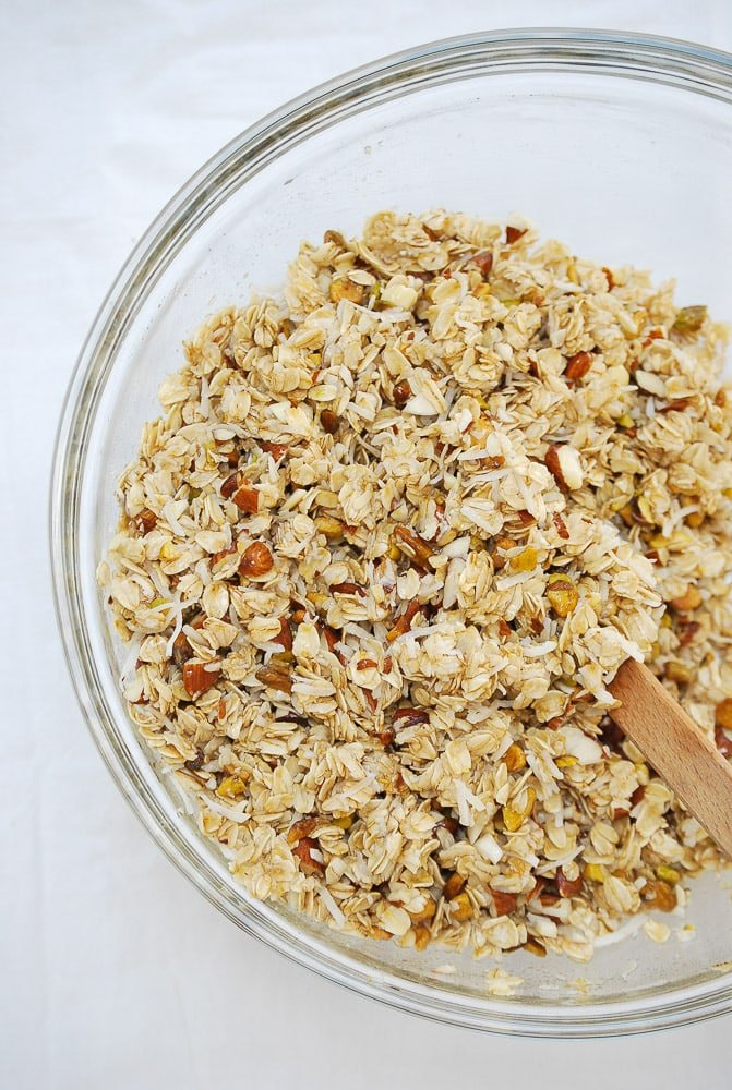 Coconut Cherry Granola-2