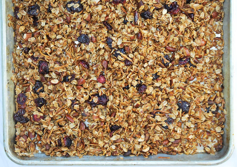 Coconut Cherry Granola-3
