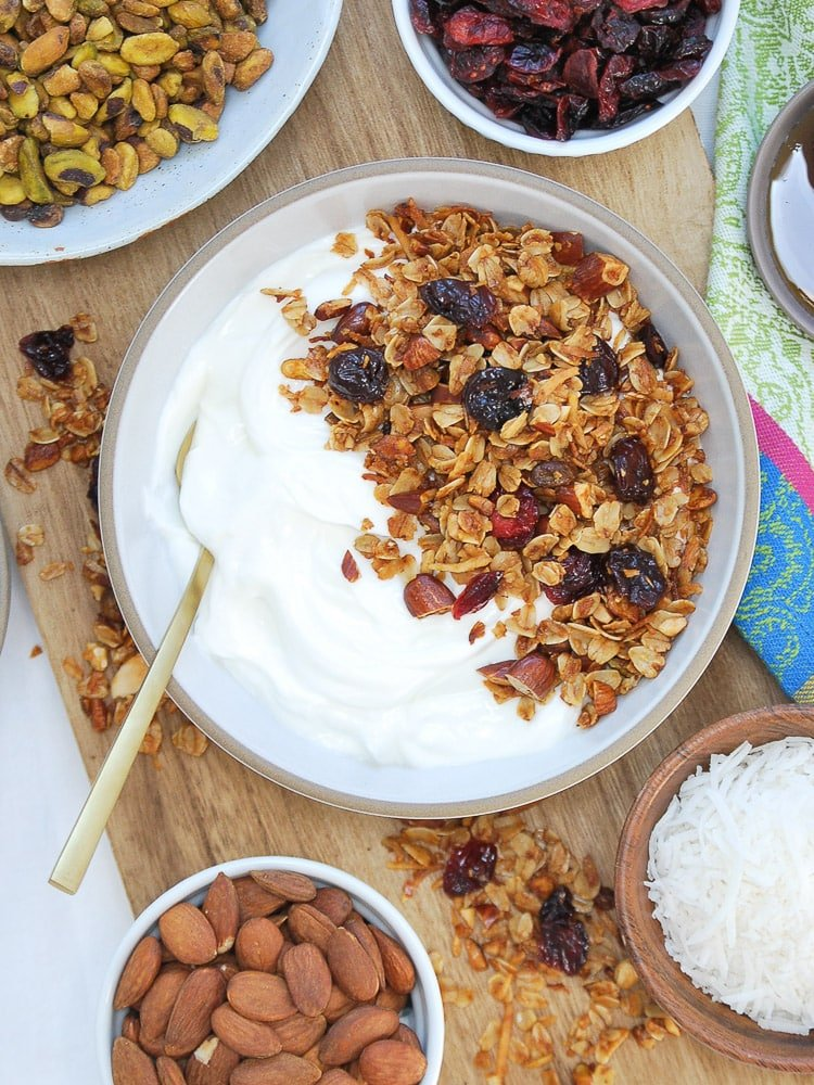 Coconut Cherry Granola-8