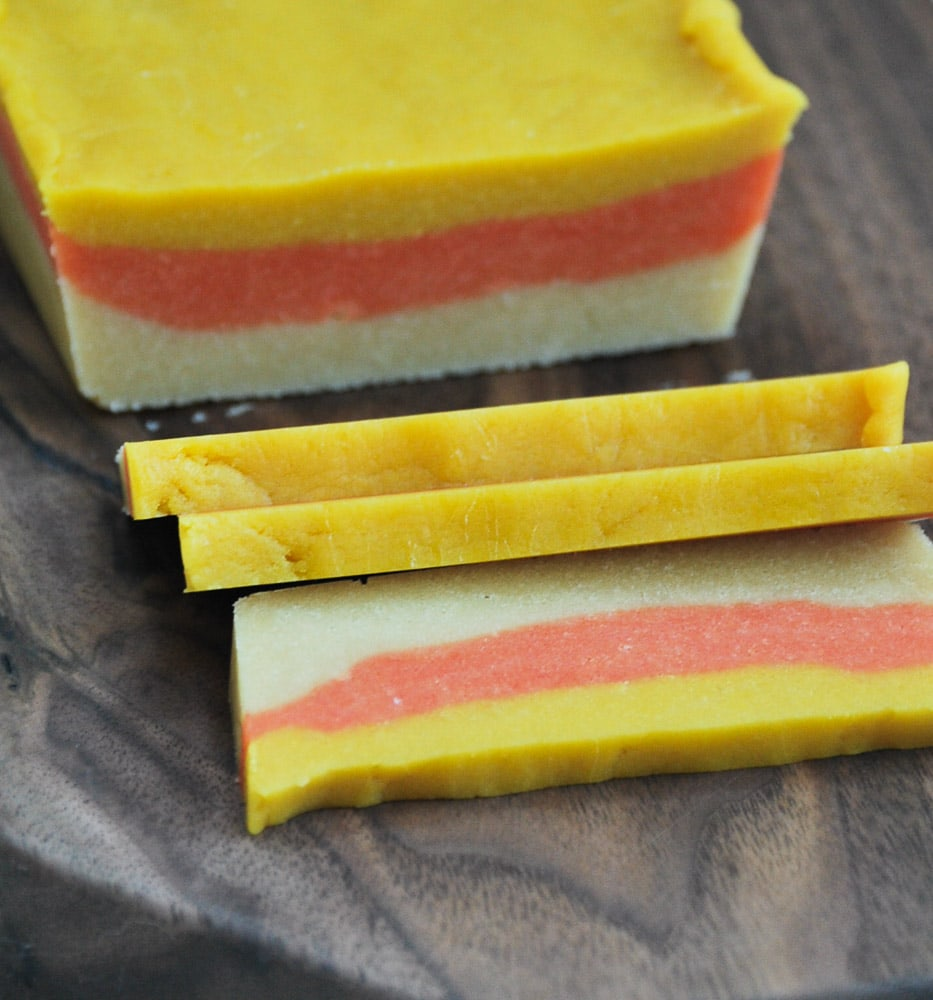 Candy Corn Sugar Cookies-5