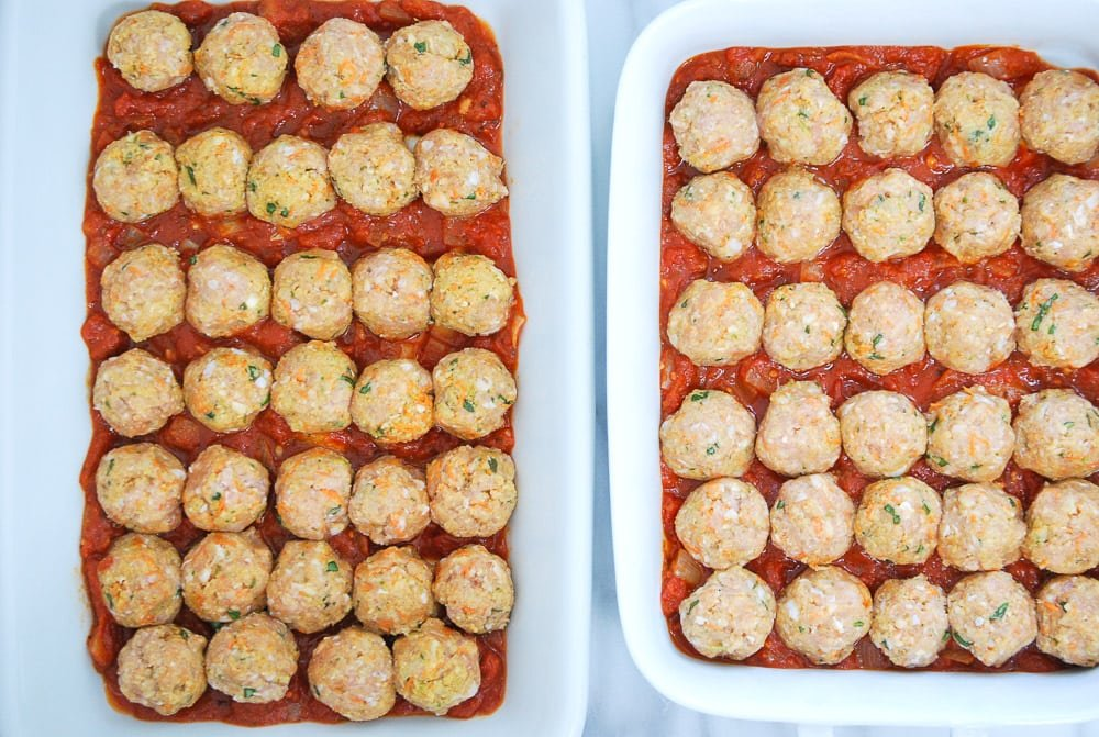 Turkey and Chicken Sausage Meatballs-2
