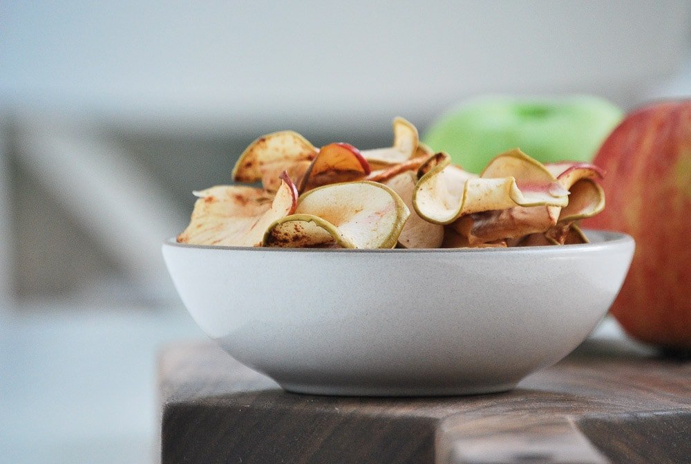 Baked Apple Chips-5
