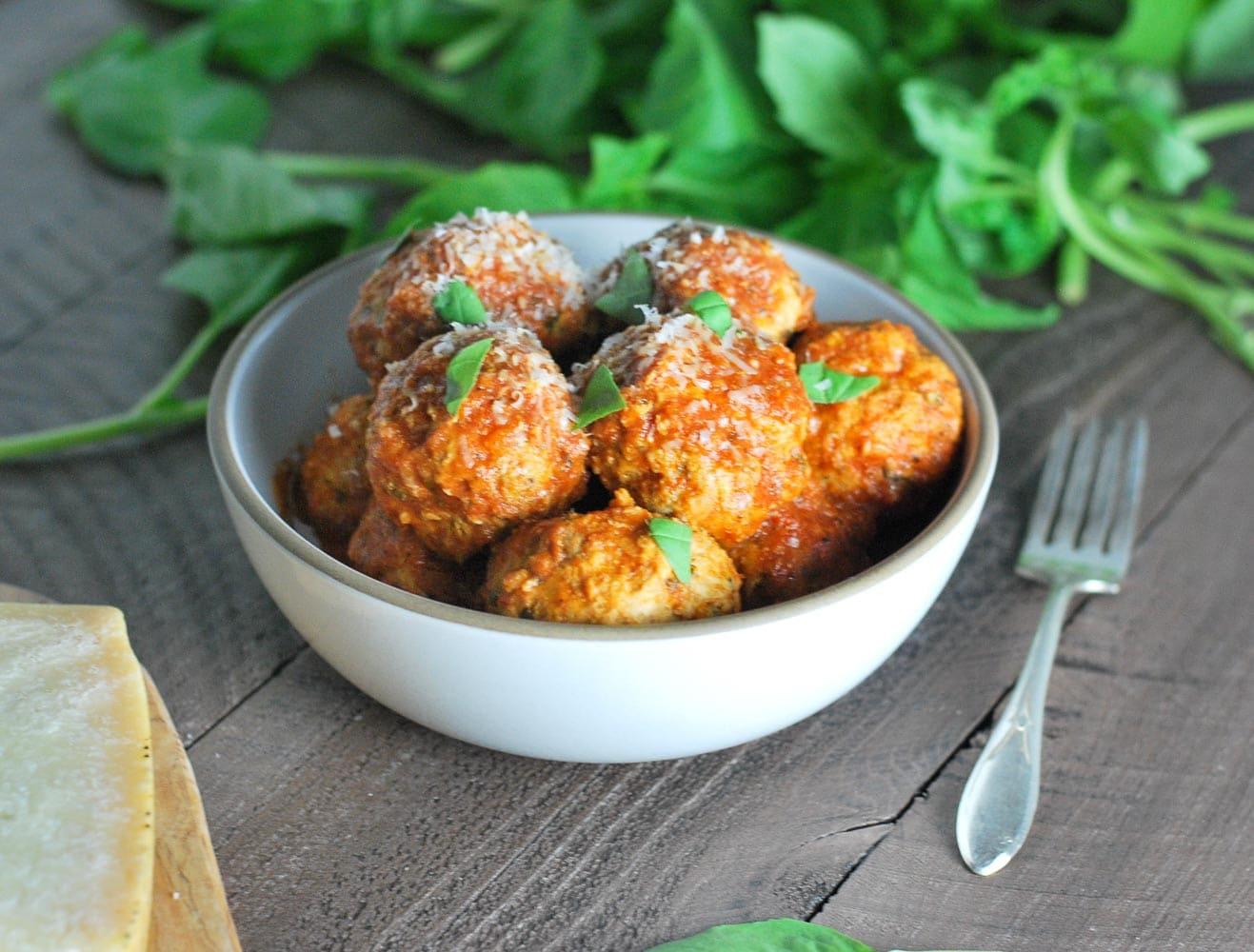Slow Cooker Turkey Meatballs-6