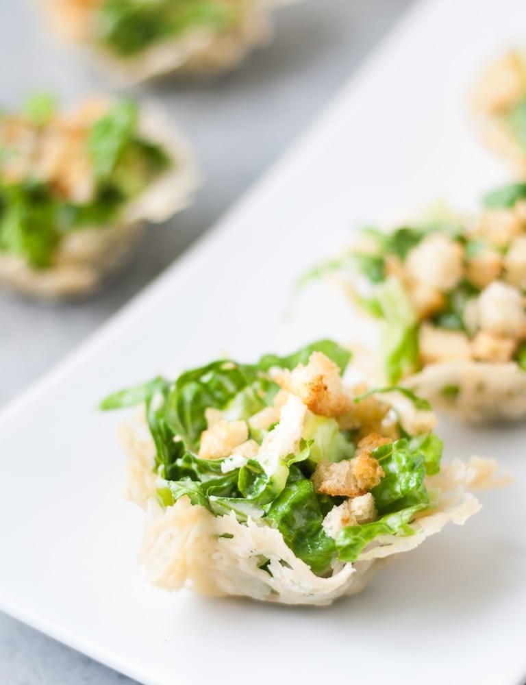 Mini Chopped Ceasar Salad Cups-8