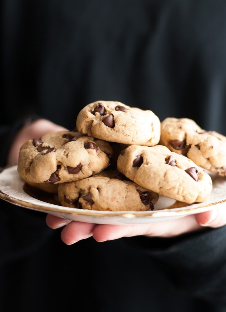 Soft Chocolate Chip Cookies-3