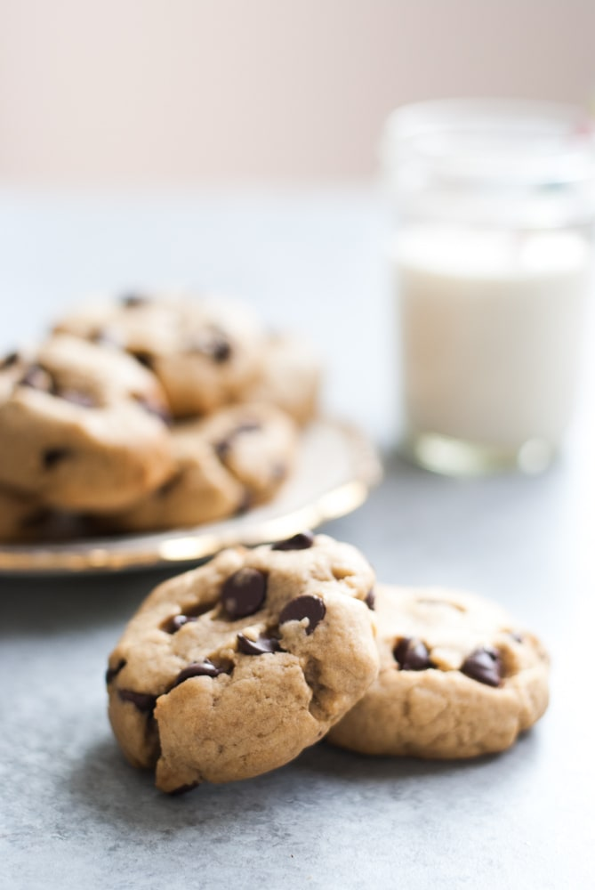 Soft Chocolate Chip Cookies-4