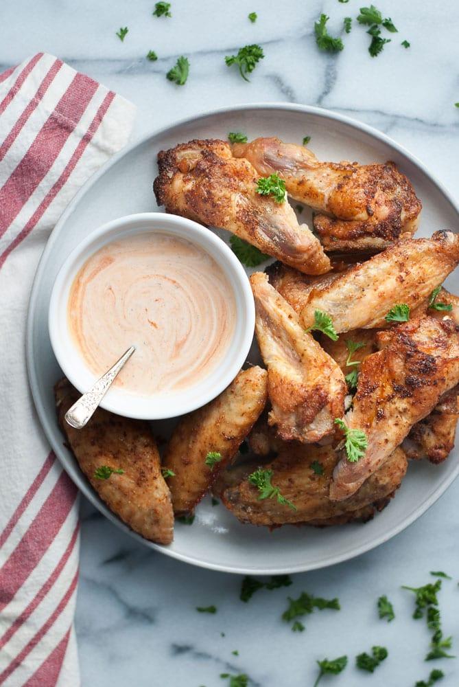 Crispy Baked Chicken Wings-5