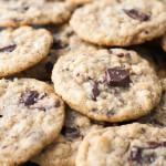 Dark Chocolate Chunk Oatmeal Peanut Butter Cookies