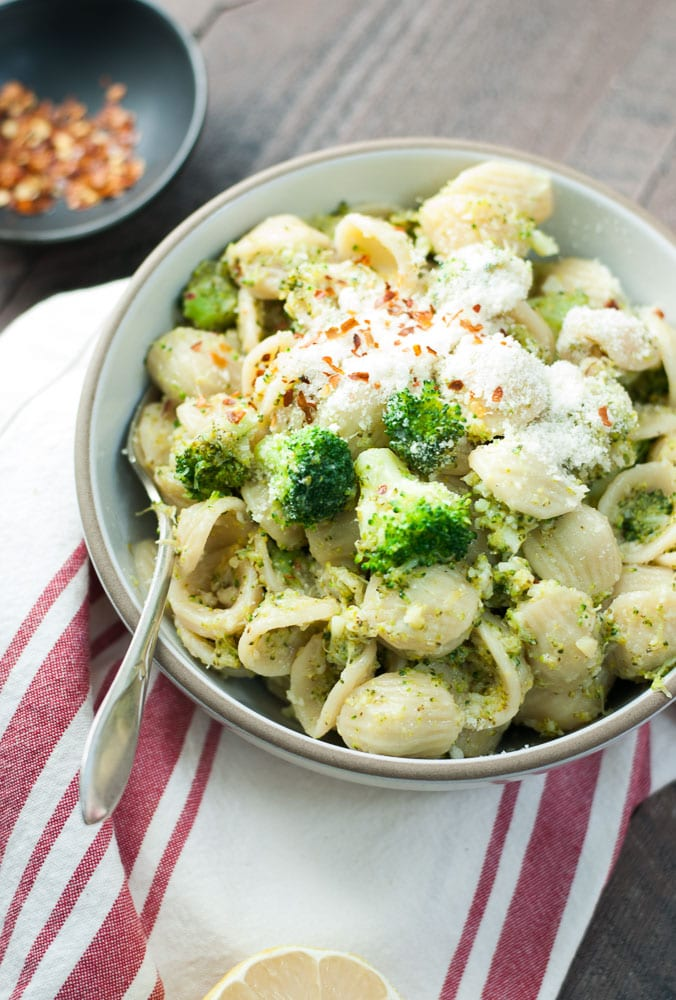 Orecchiette with Broccoli Sauce-3