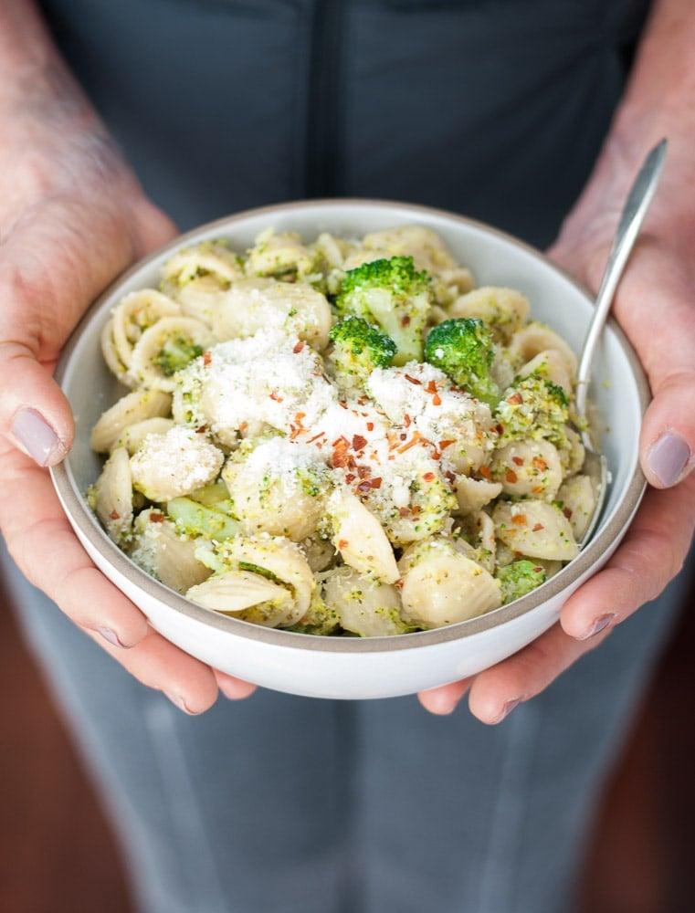 Orecchiette with Broccoli Sauce-5