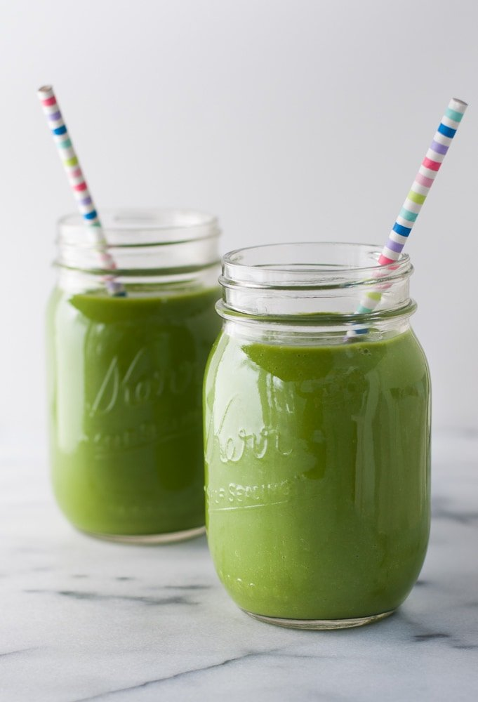 Spinach Apple Detox Smoothie-4