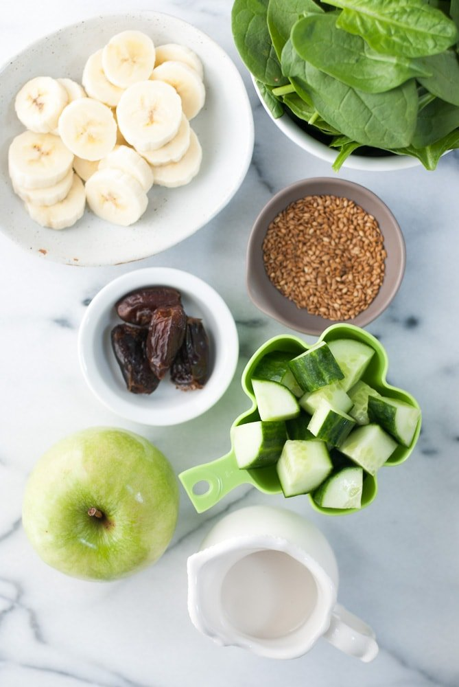 Spinach Apple Detox Smoothie