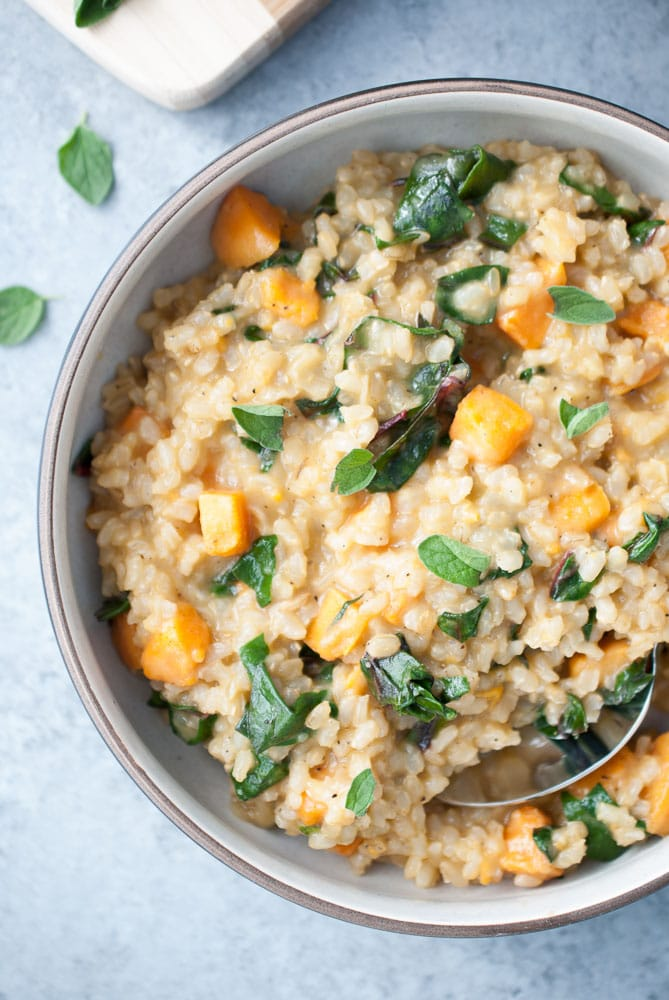 Sweet Potato & Red Chard Brown Rice Risotto_-7
