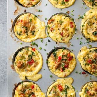 Loaded Frittata Muffins