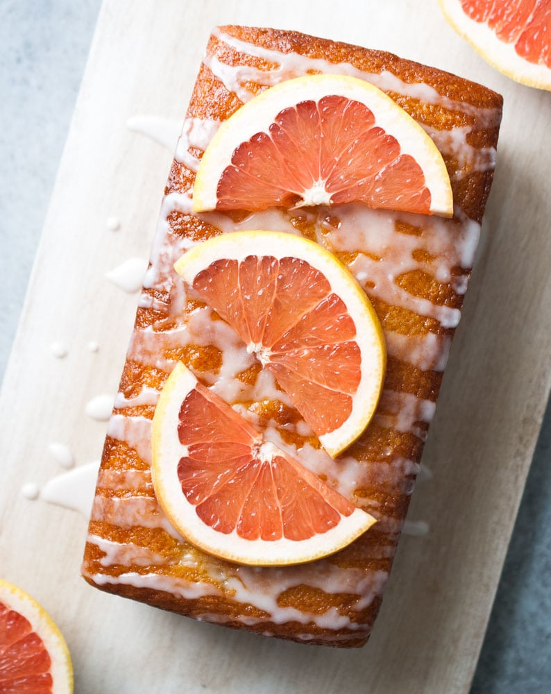 Grapefruit Yogurt Cake