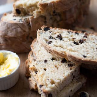 Irish Soda Bread w/ Citrus Butter