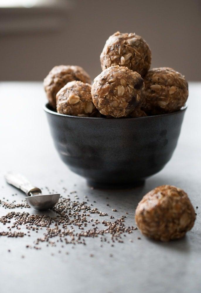 No Bake Oatmeal Energy Bites-7