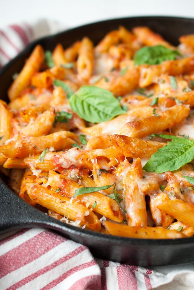 Parmesan Chicken Baked Ziti Life Is But A Dish