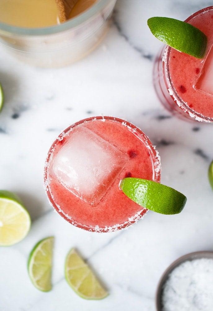 Cherry Margaritas_