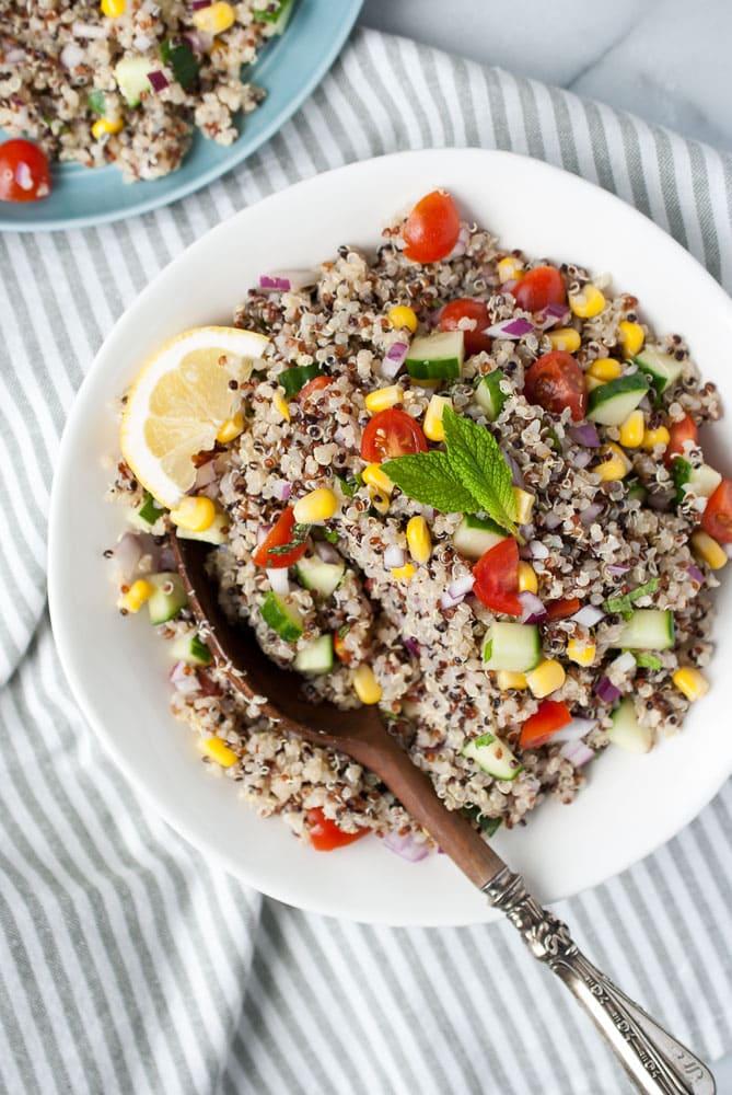 Simple Quinoa Salad-6