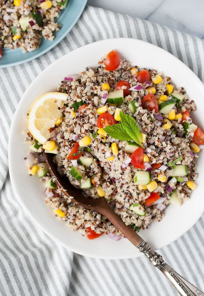 Simple Quinoa Salad-7