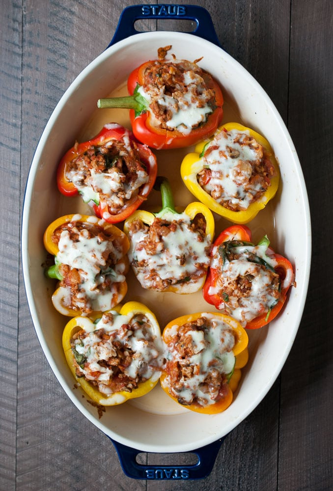 Spicy Stuffed Peppers-4