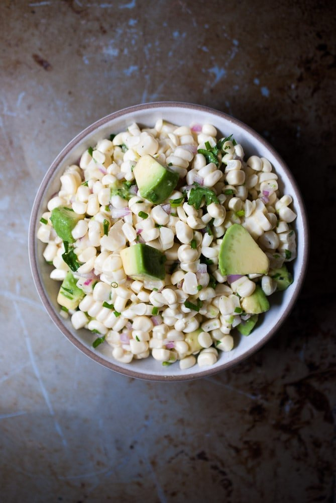 Herb Grilled Chicken w/ Fresh Corn Salsa