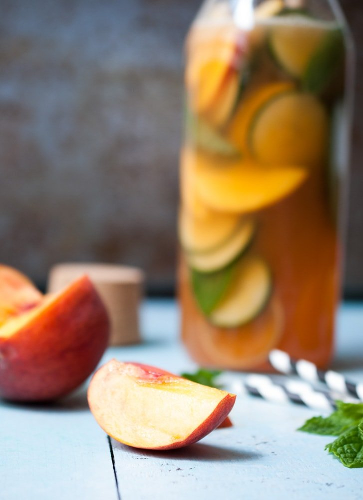 Sparkling Peach & Cucumber Lemonade_-2