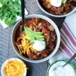 30 Minute Turkey Quinoa Chili