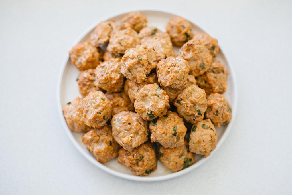 Kid Friendly Turkey Meatballs