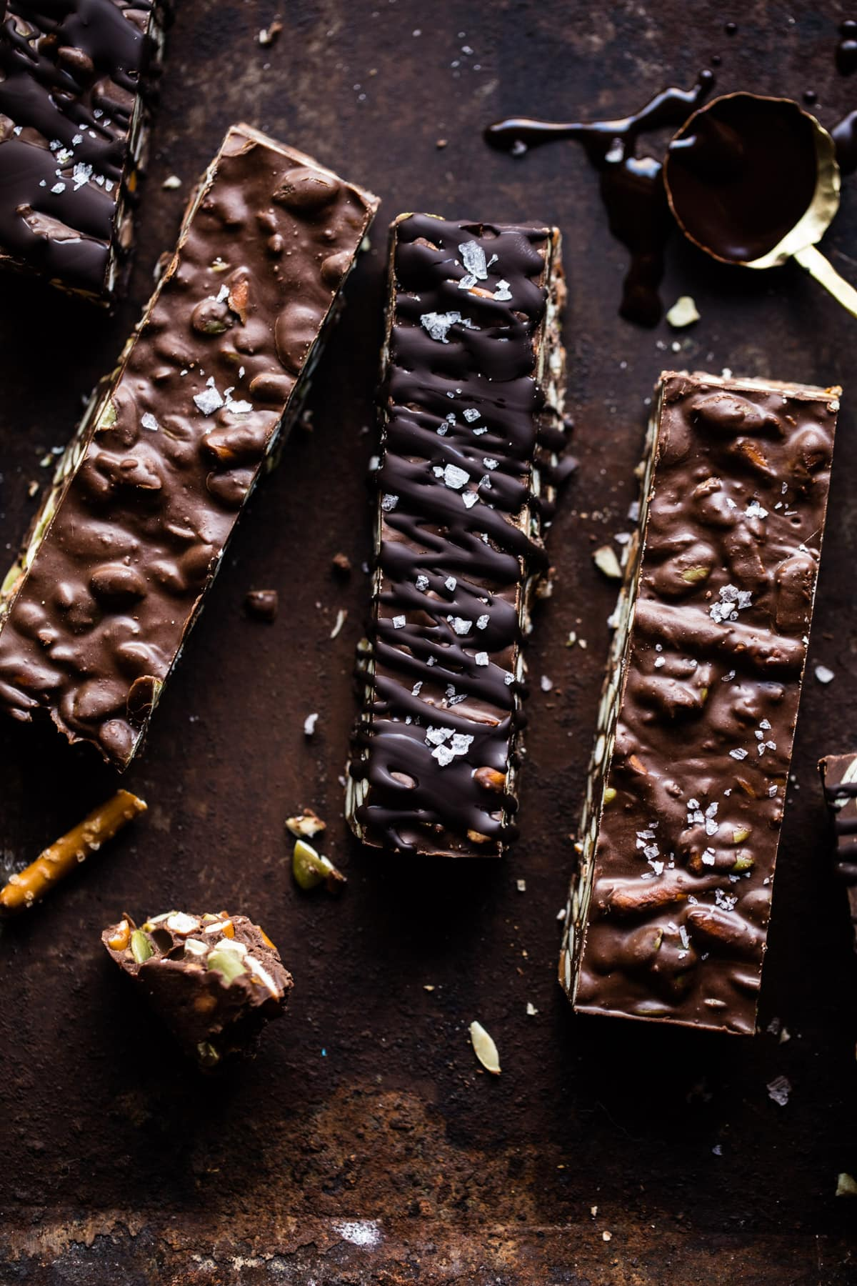 5-Ingredient Crock Pot Chocolate Bars