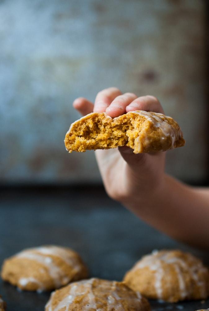 Brown Sugar Pumpkin Cookies