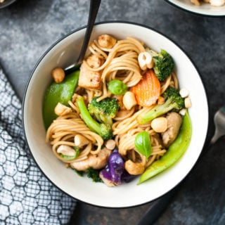 Teriyaki Chicken & Veggie Stir Fry