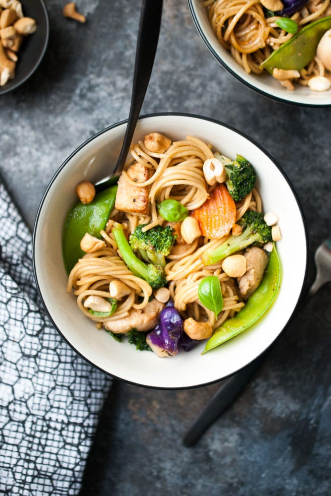 Chicken & Veggie Teriyaki Stir Fry