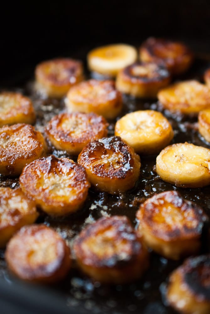 Caramelized Banana & Gingersnap Parfaits
