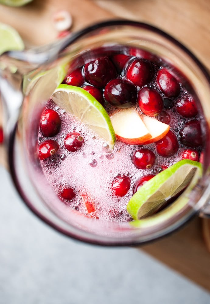 Cranberry Apple Persimmon Sangria