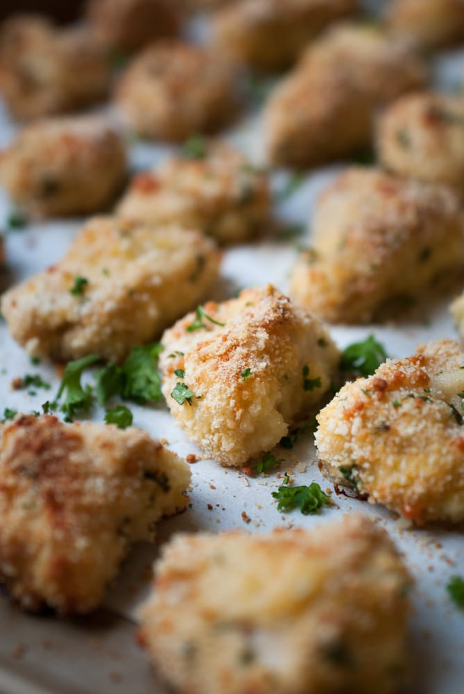 Chicken Parmesan Poppers