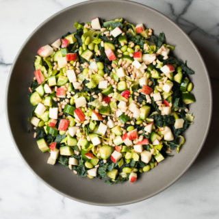 Chopped Kale & Romaine Detox Salad