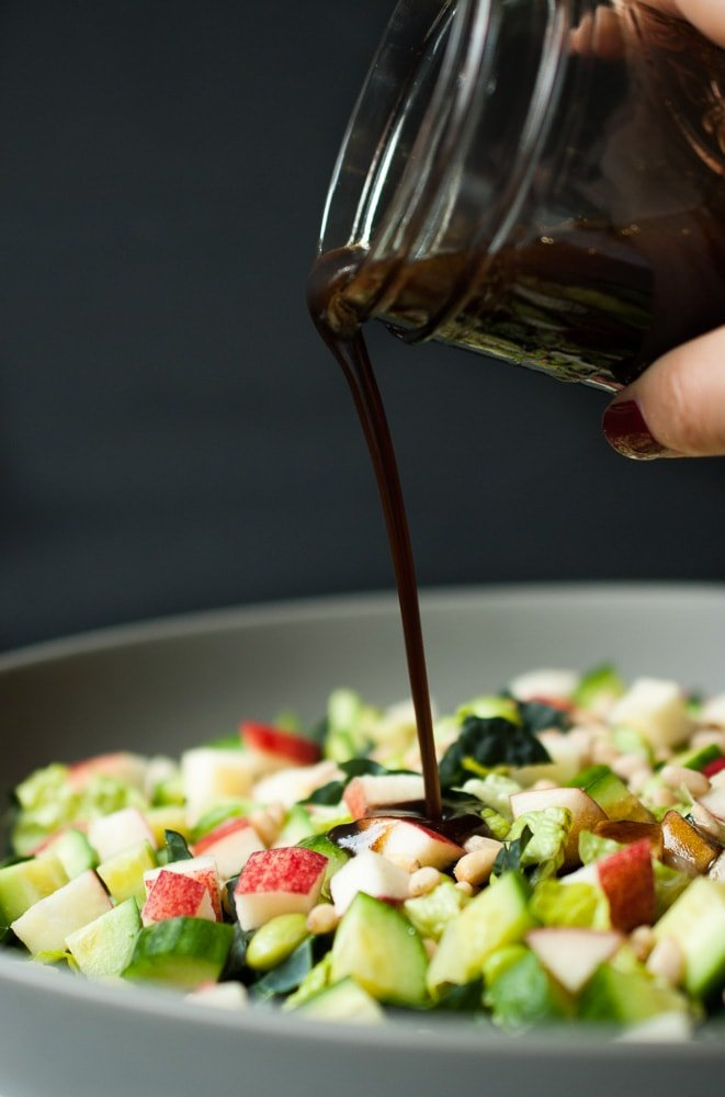 Chopped Kale & Romaine Detox Salad