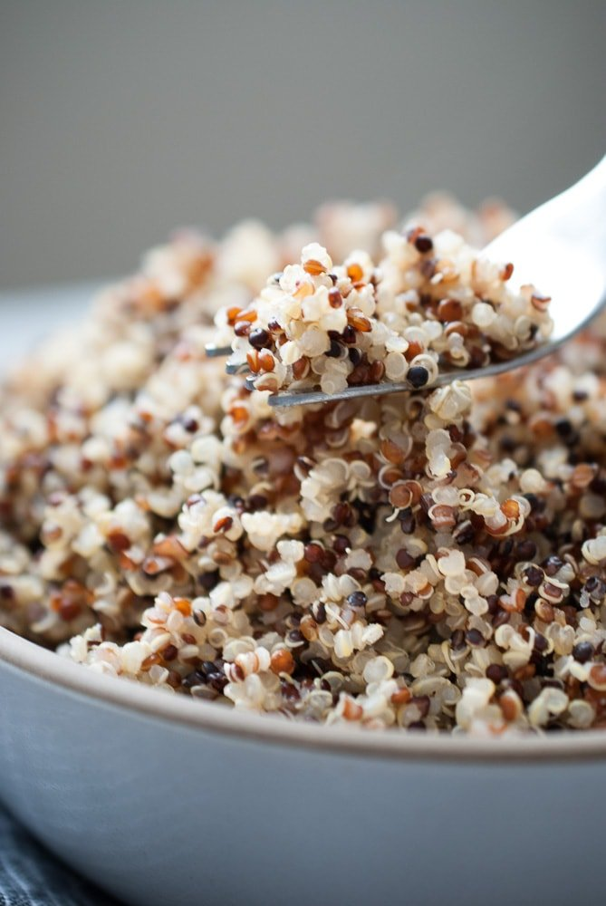 Perfectly Cooked Quinoa