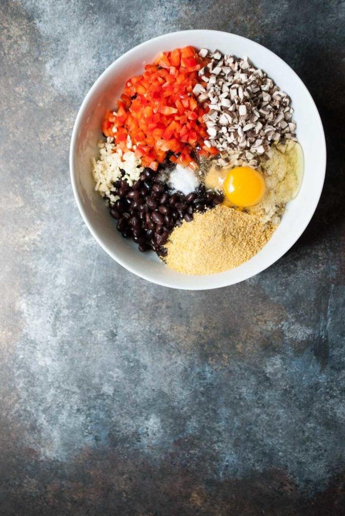 Crispy Quinoa Black Bean Burgers