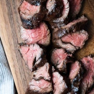 Balsamic Grilled Hanger Steak