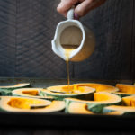 Apple Cider Maple Roasted Kabocha Squash