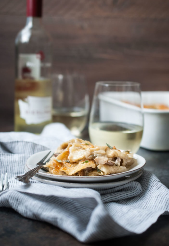 Mushroom Sage Lasagna