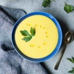 Golden Cauliflower Leek Soup