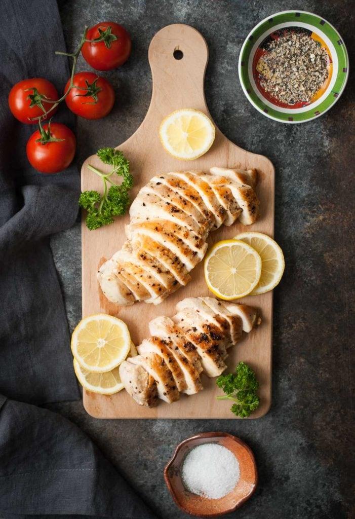 Salt & Lemon Pepper Chicken